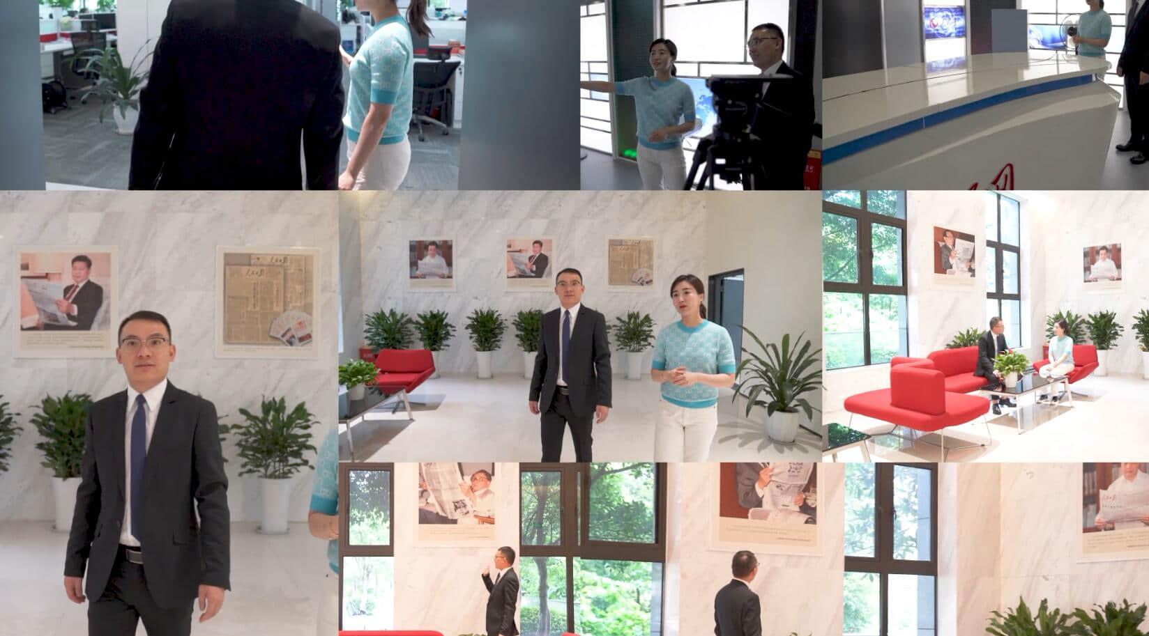 楊任歡主任人民網專訪--黑眼圈的形成和改善方式